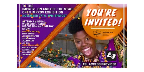 Improv | On and Off Stage Open Improv Exhibition tickets