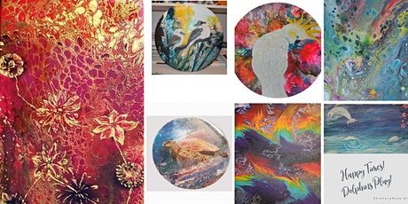 Acrylic Pouring Fun! tickets