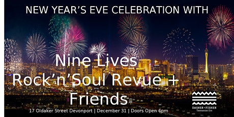 New Year's Celebration with Nine Lives + Friends tickets