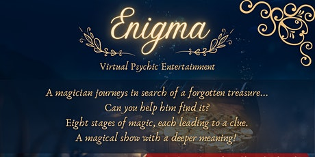 Enigma Virtual Psychic Entertainment | UK tickets