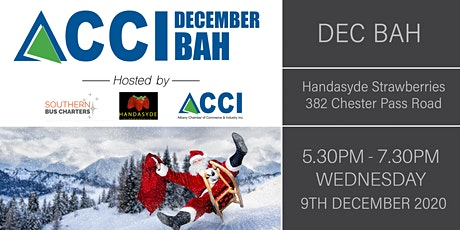 BOOKED OUT - Christmas ACCI Business After Hours tickets