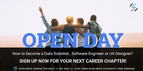 Xccelerate Open Day  - Your Next Career Chapter tickets