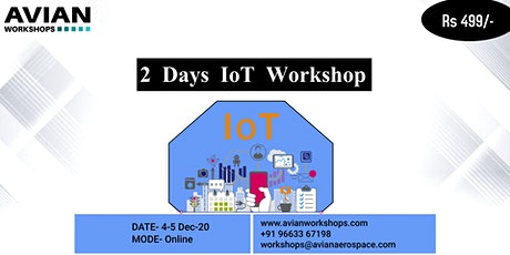 2 Days IoT Workshop tickets
