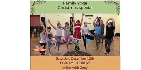 Family Yoga Christmas special tickets