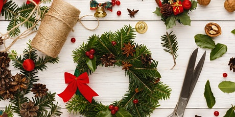 Online Craft Group  - Make Christmas decorations for your table and home tickets