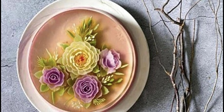 3D Jelly Art Floral Cake with Natural Colours Workshop (Basic Level) tickets