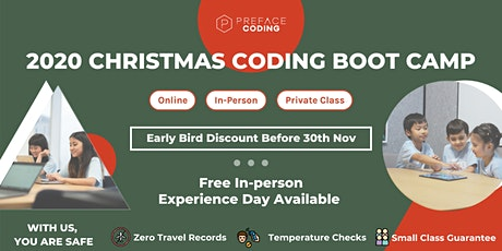 2020 Free Kids Coding Experience Day | Christmas Coding Camp | Causeway Bay tickets