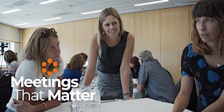 Meetings That Matter STARTER EDITION - Strategic Facilitation Training tickets