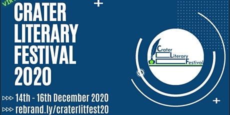Crater Literary Festival 2020 tickets