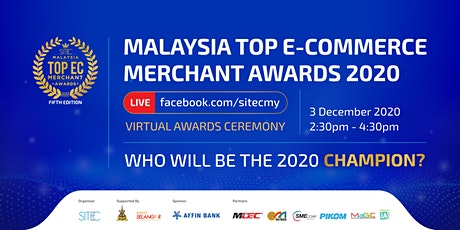 [Virtual Awards] Malaysia Top E-Commerce Merchant Awards 2020 tickets