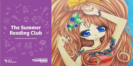 The Summer Reading Club - Manga Drawing Workshop @ Wanneroo Library tickets