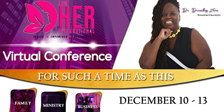 I AM H.E.R. International Conference The Virtual  Experience tickets