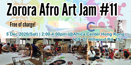 Zorora Afro Art Jam #11 tickets