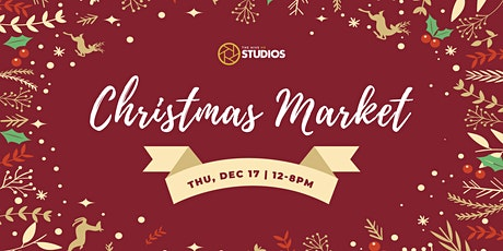 Christmas Market at the Hive Studios tickets