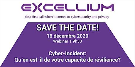 Assurance contre la Cybercriminalité - Webinar billets