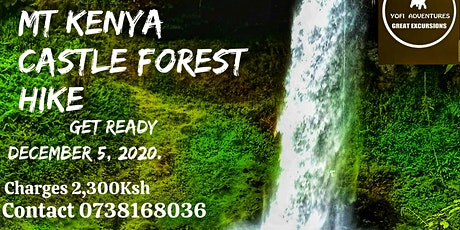 MT KENYA CASTLE FOREST  DAY  HIKE tickets
