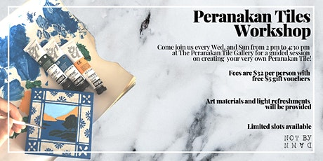 Peranakan Tiles Workshop tickets