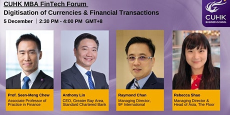 CUHK MBA FinTech Forum tickets