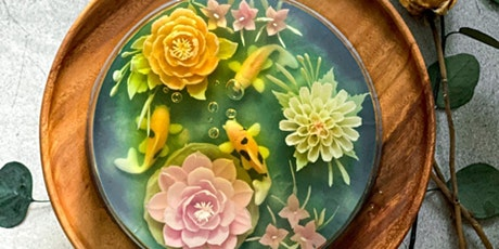 3D Jelly Art Floral - Koi & Bloom (Intermediate Level) tickets