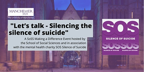 """""""Let's talk - Silencing the silence of suicide"""" tickets"""