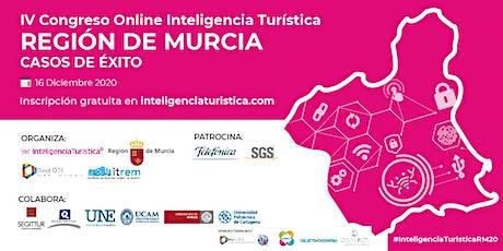 IV Congreso Online Inteligencia Turística. Región de Murcia. Casos de éxito boletos