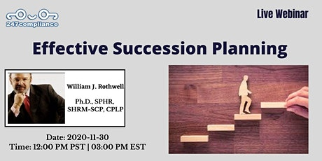 Effective Succession Planning tickets