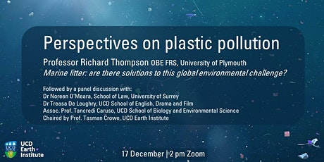 Perspectives on Plastic Pollution tickets