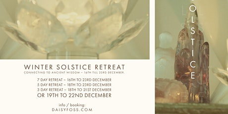 Winter Solstice Retreat, 7, 5 or 3 Day Retreat in Avalon tickets