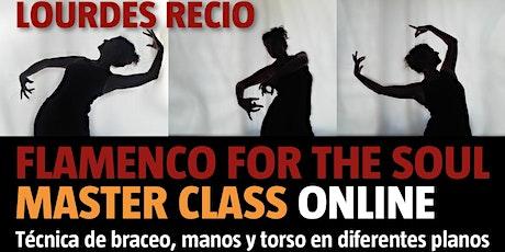 Flamenco for the Soul Online Master Class entradas
