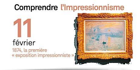 1874, la première « exposition impressionniste » billets