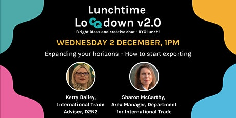 Lunchtime LoCQdown v2.0 tickets