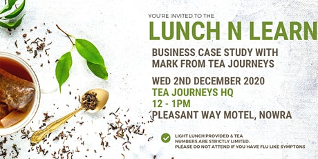 Lunch N Learn - Tea Journeys tickets