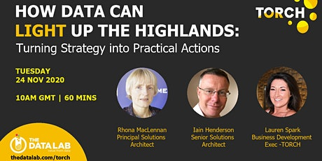 Re-Scheduled How Data Can Light Up The Highlands & Islands (on-line event) tickets