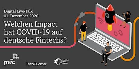 PwC Digital Live-Talk: Welchen Impact hat Covid-19 auf deutsche FinTechs? tickets