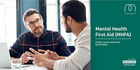 Mental Health First Aid Adult Online Course tickets