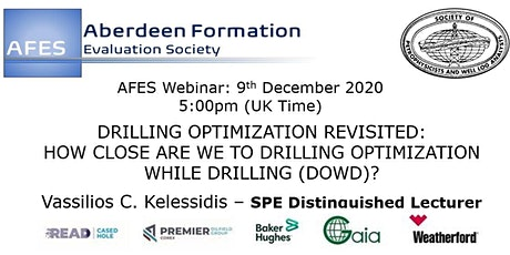 AFES December Technical Talk#2: DRILLING OPTIMIZATION REVISITED tickets