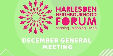 Harlesden Neighbourhood Forum -  December General Meeting tickets