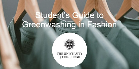 Student's Guide to Greenwashing in the Fashion Industry tickets