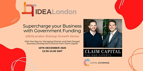 Supercharge your Business with Government Funding! tickets
