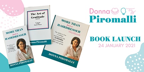 Book Launch - ' More Than Just a Hairdresser' by Donna Piromalli tickets