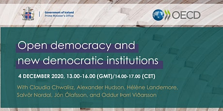 Open democracy and new democratic institutions tickets