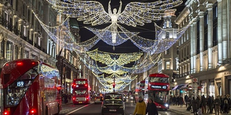 Singles Christmas Lights Walking Tour in London (Ages 30-45) tickets