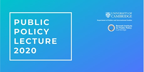 2020 Annual Public Policy Lecture with Professor Ottoline Leyser tickets