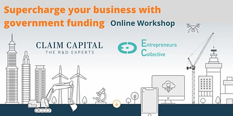 Founder Workshop: Supercharge your startup with R&D, Funding and Gov Grants tickets