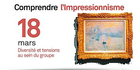 Diversité et tensions au sein du groupe Impressionnisme billets
