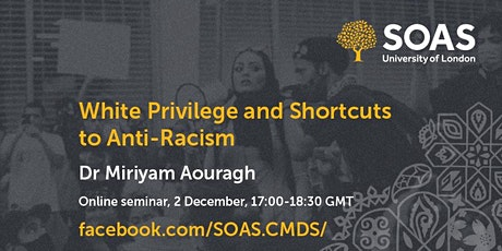 White Privilege and Shortcuts to Anti-Racism tickets