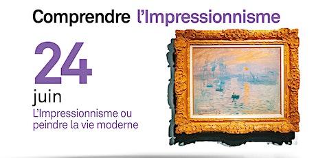 L'impressionnisme ou peindre la vie moderne billets