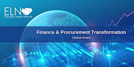 CFO/CPO Finance & Procurement Summit 2021 tickets