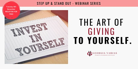 The Art Of Giving To Yourself tickets