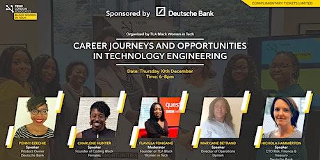 TLA Black Women in Tech - Preparation for 2021 with Deutsche Bank tickets